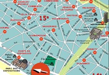 Paris - centrul expozitional Porte de Versailles
