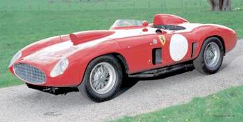 1956 Ferrari 410 Sport Spyder