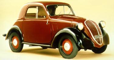 Fiat Topolino - asa arata in perioada de glorie 1936-1955