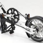 Bicicleta rabatabila pentru portbagaj