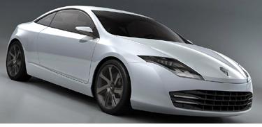 Laguna Coupe va fi prima gazda pentru noua motorizare V6 dCi