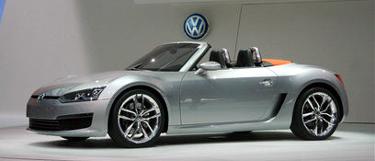 Conceptul VW BlueSport, dupa care ar putea fi clonata Skoda CC