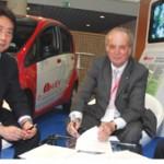 Mitsubishi - implementarea proiectului i-MiEV