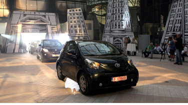 Toyota IQ intra in scena!