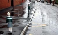 Copiii-popic - experiment britanic pentru traficul de langa scoli