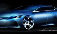 Concept compact Lexus