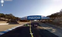 Mazda Laguna Seca - circuit accesibil prin Google