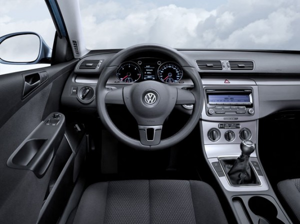 VW BlueMotion interior