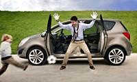 Opel Meriva de serie, cu portiere antagonice