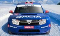 Trofeul Andros - Skoda castiga, Dacia pe doi