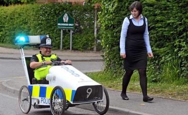 Patrulare cu pedale