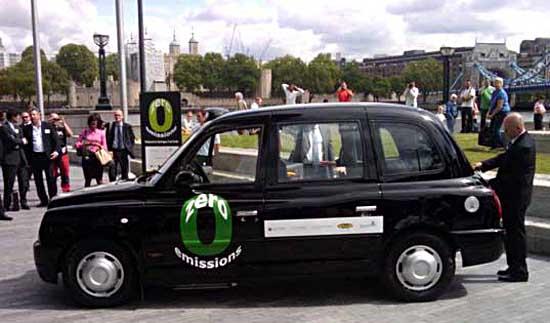 Taxi cu celula de hidrogen