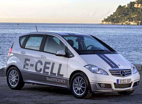Mercedes Clasa A E-Cell
