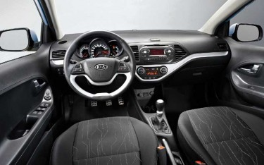 Kia Picanto 2011 interior
