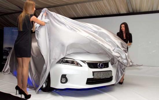 Lexus CT 200h lansare