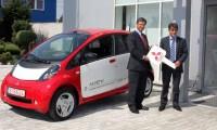 Al doilea Mitsubishi i-MiEV livrat in Romania