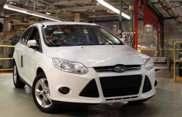Ford Focus EcoBoost 2012