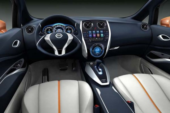 Nissan Invitation interior