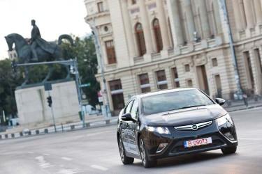 Opel Ampera in Bucuresti