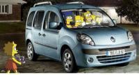Renault Kangoo - promotie bizara