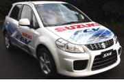 SX4 FCV - Suzuki joaca tare